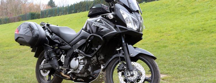 Umbau an Suzuki V-Strom