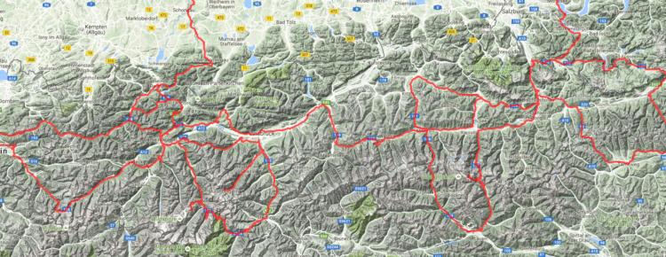 Österreich Alpentour | >3000km